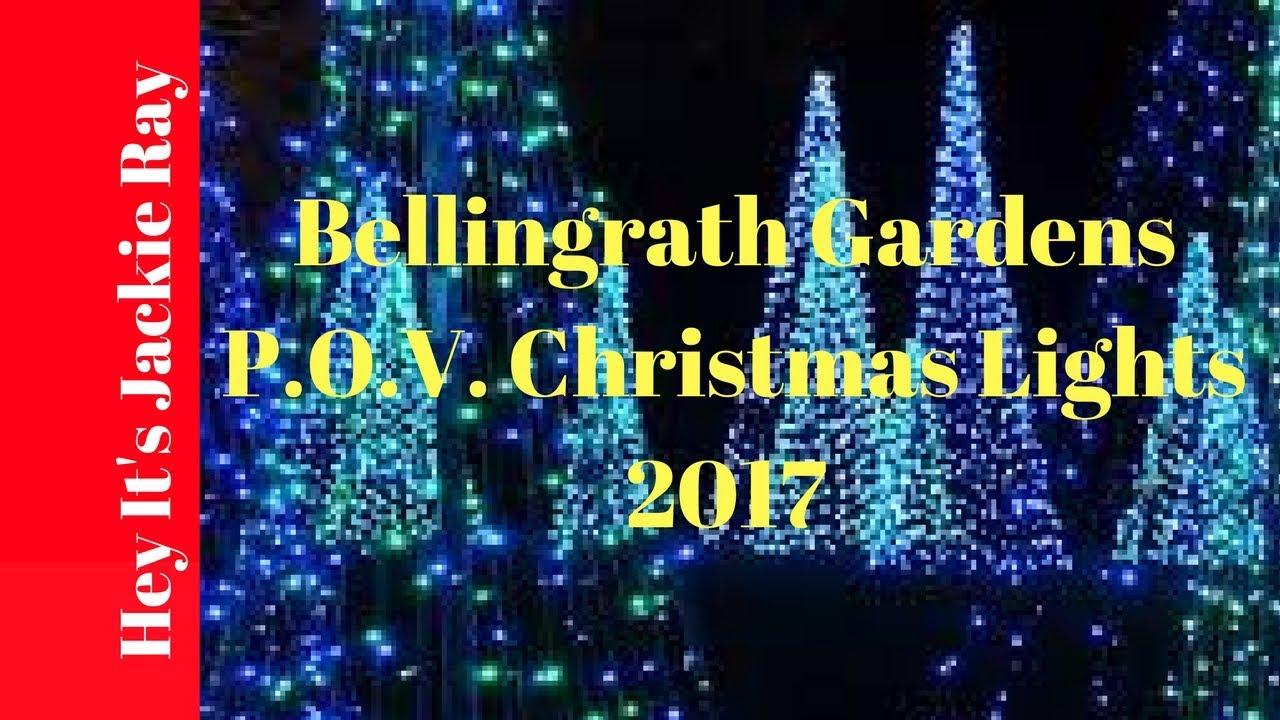 Bellingrath Gardens POV Christmas Lights 2017 YouTube