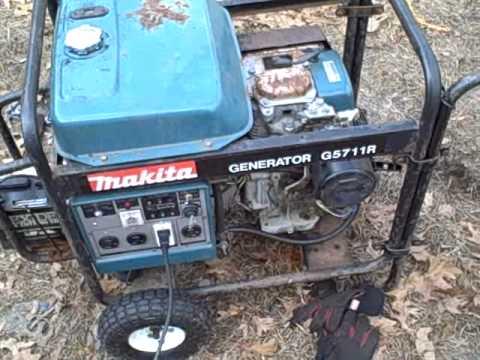 Makita Generator Project Part 6 on