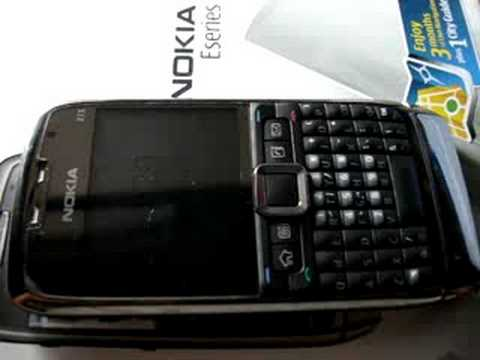 Nokia E71 notification light