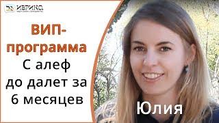 История успеха Юлии Иврит с Викторией Раз Вип-программа