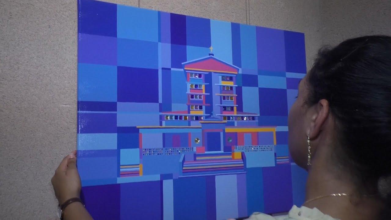 Elodie Mondelice : l'architecture guadeloupéenne au pinceau