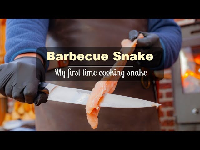 Barbecue Snake for the first time