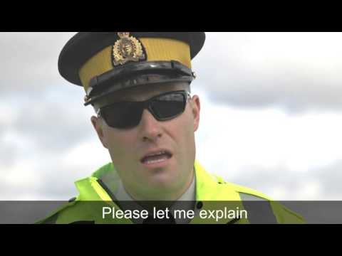 Nova Scotia RCMP's 'Cop Light Bling'
