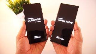 Galaxy S9 Plus vs Galaxy Note 8 Speed Test & Comparison [Urdu/Hindi]