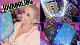 Starting A Journal: The Basics & Supplies!