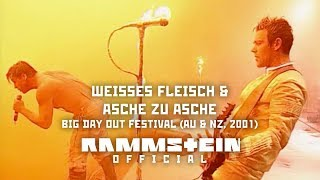 Rammstein - Weisses Fleisch & Asche zu Asche (Big Day Out Festival 2001)