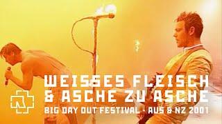 Rammstein - Weisses Fleisch & Asche zu Asche (Big Day Out Festival 2001)