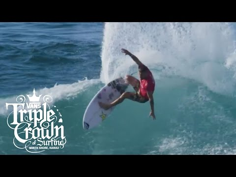 Hawaiian Pro 2016: Day 1 Highlights  Vans Triple Crown of Surfing  VANS