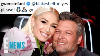 Gwen Stefani & Blake Shelton Are Engaged! | E! News