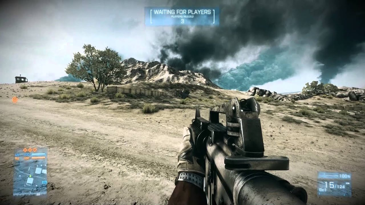 1920x1080 60 fps, Monitor is 1280x1024 Test BF3 Gameplay