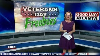 I-Team: Veterans Day Discounts and Freebies