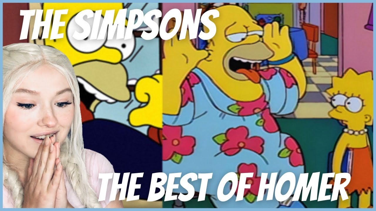 Download First Time Watching The Simpsons - The Best Of Homer REACTION!!!