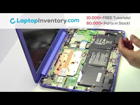 HP Stream 13-C Battery Installation Replacement Guide Install Laptop K3N16UA EAY0B003010