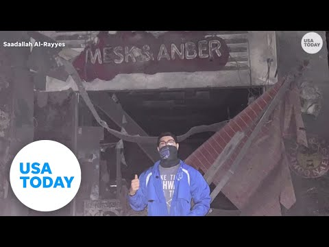 Gaza family loses their ice cream business to an Israeli airstrike   USA TODAY