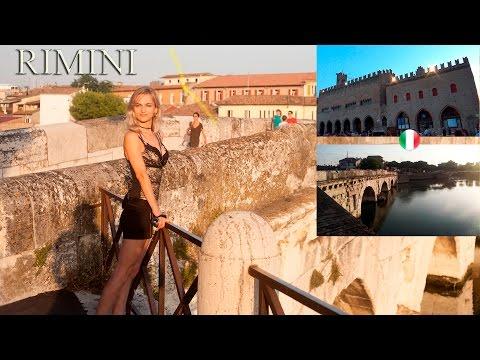 RIMINI - Italy | Tour in Rimini | Beach / Art/ History | Travel Adventures | Kate Claudia ✔