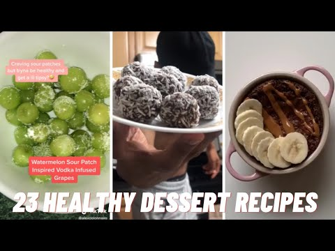 23-best-healthy-dessert-recipes-for-weight-loss-|-tiktok-compilations-#dessertrecipes