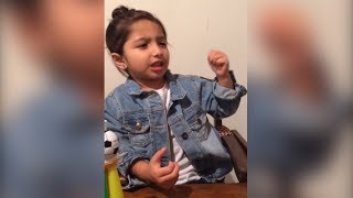El tierno mensaje de una niña guatemalteca a México