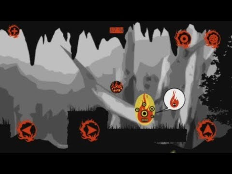 Fire Bounce 2D (Android) - gameplay.