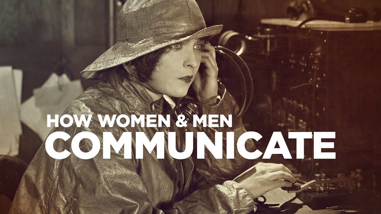 How do men and woman communicate