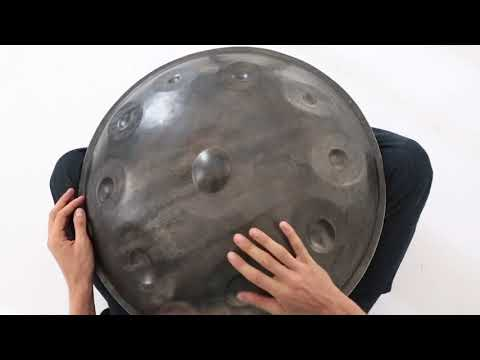 Handpan lesson by Pasha Aeon , Rhythm patterns for beginners, 2018