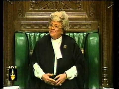 House of Commons - Betty Booth...