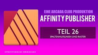 Affinity Publisher Teil 26: Spaltenhilfslinien und Raster