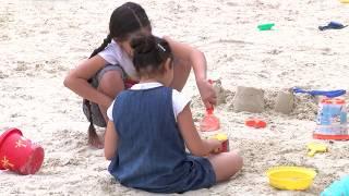 Saint-Quentin-en-Yvelines : la plage s'invite en ville