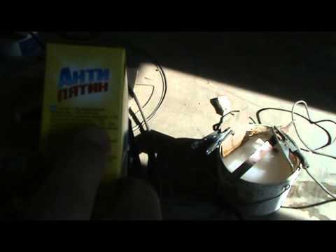 Очистка деталей от ржавчины с помощью электролиза и сварочного аппарата
