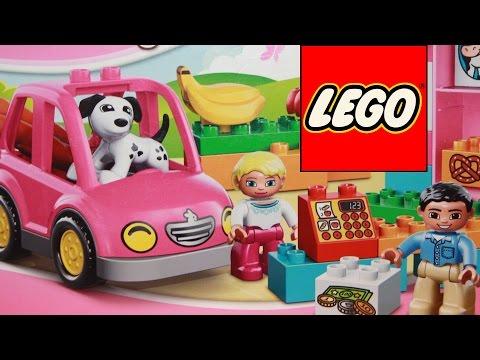 Конструктор Лего Дупло - обзор игрушки Lego Duplo Супермаркет 10546