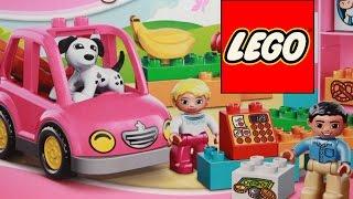 Конструктор обзор игрушки Lego Duplo Супермаркет