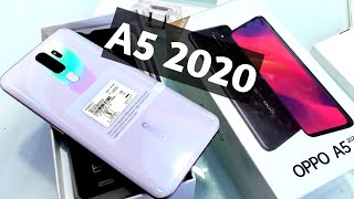 Oppo A5 2020 3GB 64GB Dazzling White Unboxing amp First Look Hands-on