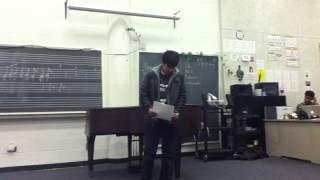 EngleWood Poetry Slam Gary Round 2