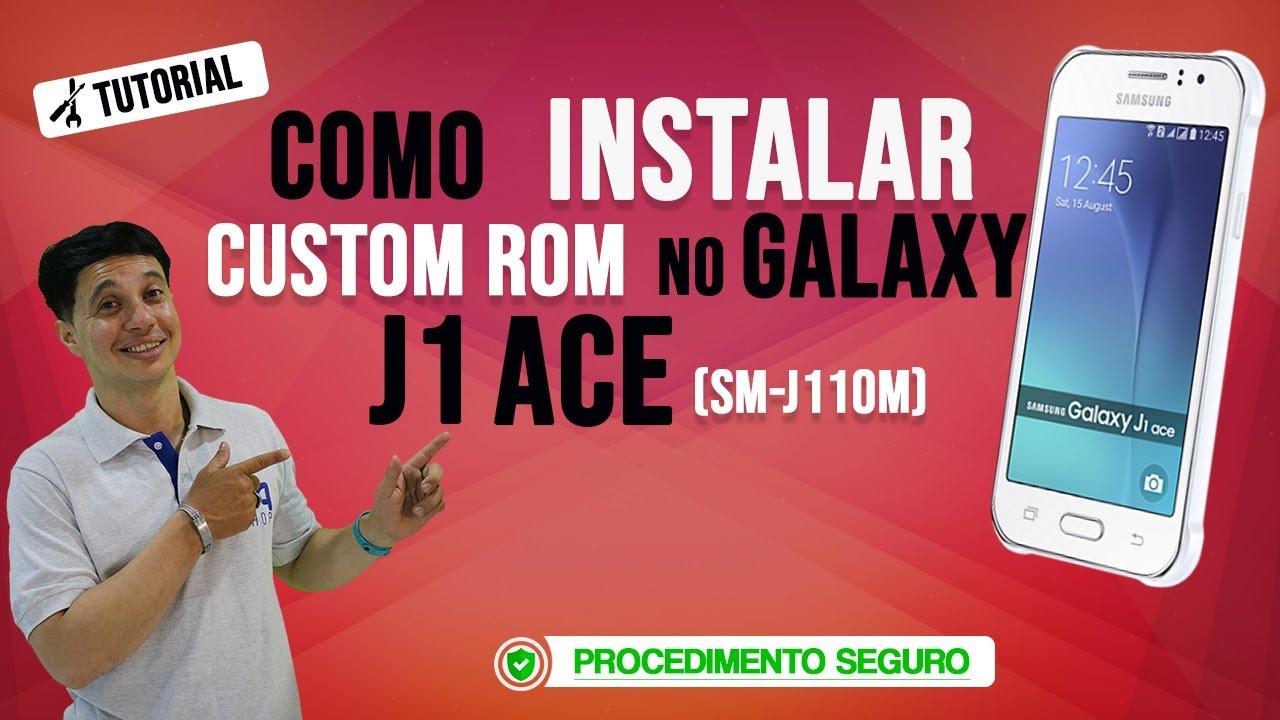 Como Instalar CustomRom CleanLiteOS Android 5 1 1 no Samsung J1 Ace  (SM-J110M)
