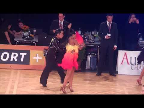 2017 WDSF JUNIOR ll LATIN   VIENNA   BENNY TAN & ZARA ELIZA   JIVE