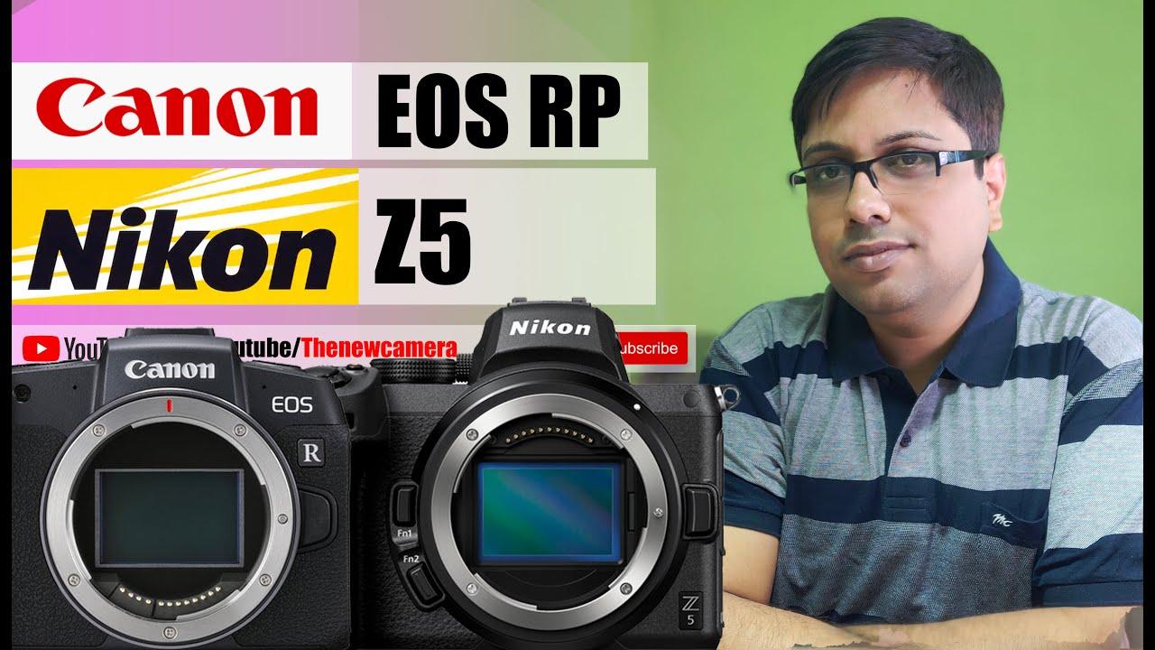Nikon Z5 vs Canon EOS RP Hindi