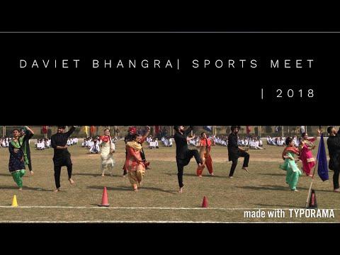 Bhangra Performance | DAVIET | Sports Meet | 2018