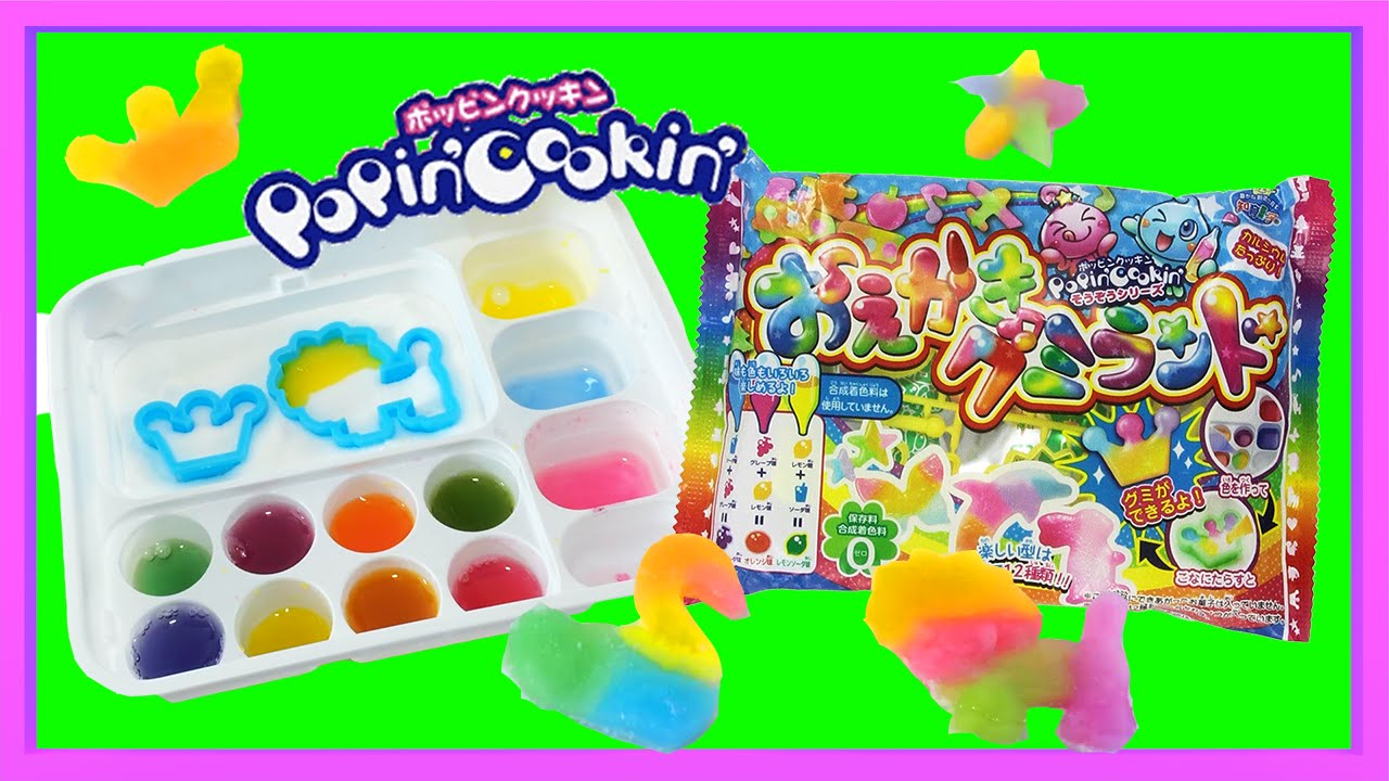 Popin cookin amazon - Kracie Popin Cookin Diy Candy Kit Gummy Animals