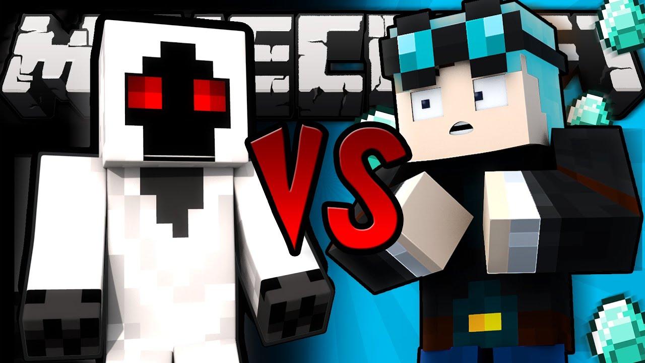 Entity 303 VS TheDiamondMinecart - Minecraft | FunnyDog.TV