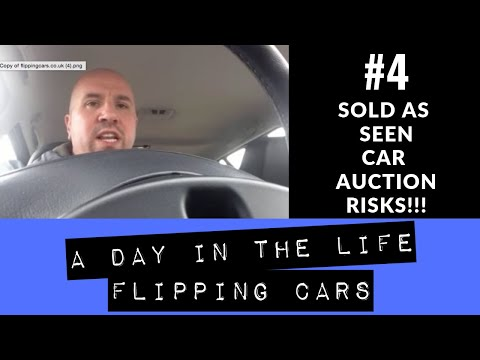 Sold As Seen Car Auction Risks - Day In The Life Flipping Cars #4