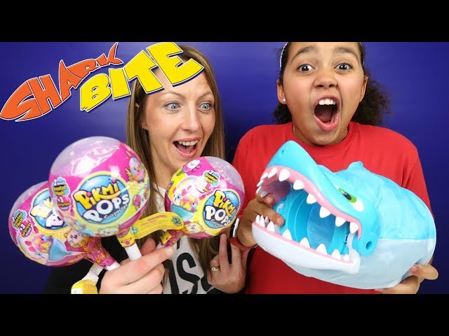 Shark Bite Fishing Toy Challenge Game Pikmi Pops