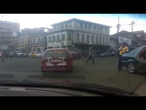 Driving around Freetown pt1