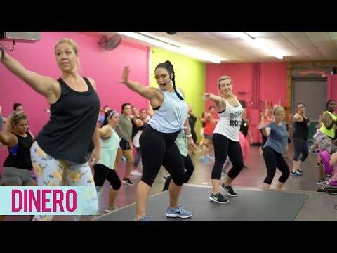 Jennifer Lopez - Dinero ft. DJ Khaled, Cardi B (DANCE2FIT with Jessica Bass James)