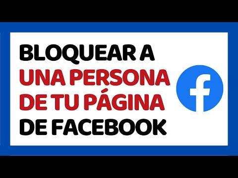 🔴 Cómo Bloquear A Una Persona De Tu Página De Facebook 2019