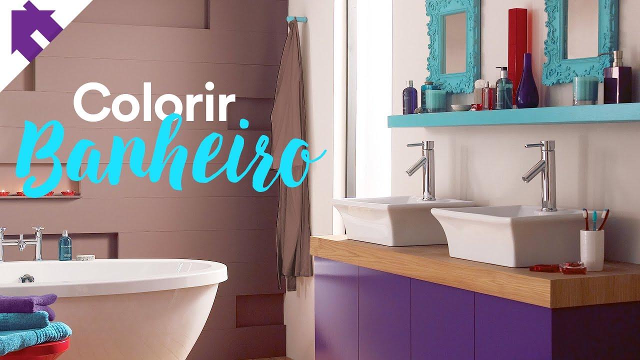 Adesivo De Banheiro Azulejo ~ COMO DEIXAR O BANHEIRO MAIS COLORIDO + Adesivos de Azulejo da AdsiveShop YouTube