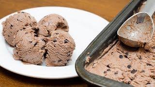 HOMEMADE CHOCOLATE ICE CREAM RECIPE | EGG LESS | NO ICE CREAM MACHINE