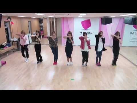 A-Pink HUSH Dance Practice 1
