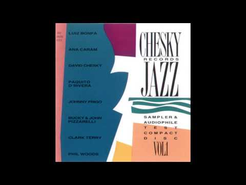 Chesky Records Jazz Sampler & Audiophile Test Compact Disc:
