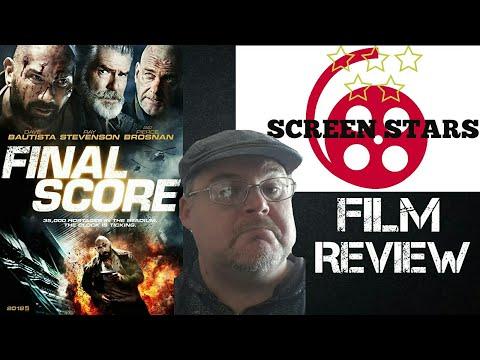 Final Score (2018) Action Film Review (Dave Bautista, Pierce Brosnan)