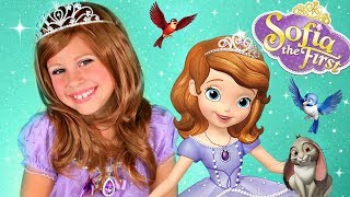 Disney Princess Sofia the First Makeup and Costume! Camera GIVEAWAY