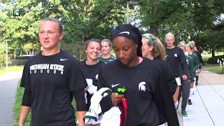 Michigan State Women's Soccer All-Access vs Butler Univeristy